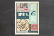 Invitations/Paper Products / by Cindy Alexander