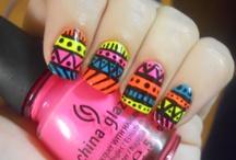 Nail Art / Best manicures & nail art on Pinterest + easy tutorials :) / by Carmen Porcel Dacal