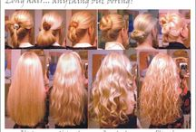 hair styles++ / It is so much fun looking for the 'perfect' hairstyle.   / by Joyce Brown