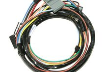 GM Wire Harnesses / Dash, engine, front/rear, wiper..... Find your harnesses here! Don't forget the components! / by YEARONE Muscle Cars