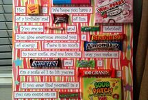 Birthday Candy Board / by Ginamarie Martino