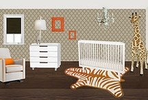 baby rooms / by Mitzi James