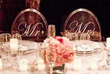 Wedding   Tablescapes & Centerpieces❧ / Wedding Place Settings & Centerpieces / by Yasmen Katrina Events❥