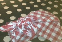 Furoshiki (japanese giftwrapping w fabrics(cloths) / by Annica Thorberg