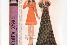 Sewing: 1970s patterns / by Aspen Crabb