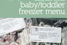 baby snacks and foods / by Kassie Wade