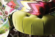 pillows & fabric inspiration / by Verbena Cottage