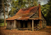 Abandoned Farms, Barns & Farming Equipment / and lots of outhouses! / by Nancy Pate