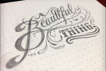 Hand-drawn Type / by Cameraluv