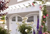 curb appeal and exterior loving / by Nest of Posies