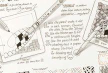 Doodling / Art doodles / by Sara Kay Hartmann