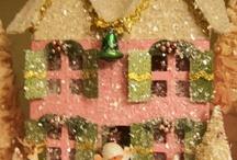 !glitter houses my husband lost / by Michel Warner