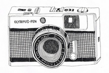 {camera art} / by Rachelle @ Simple Stitches