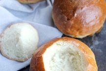 Pains...croissants..brioches.. / by Souad Kilani