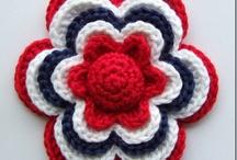 Adornos, apliques crochet / by Stella Maris L B