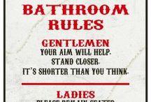 Bathroom Etiquette / by Carissa West
