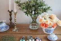 Flowers & Table Settings  / by Michelle Hawkins