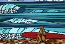 Surf art / by Lauren Andrews