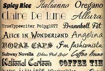 Fun Free Fonts / by Karen Musgrave McGraw