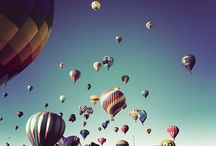 Hot air balloons / by Sofie Lausten