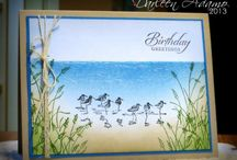 Wetlands stampin up / by Fran Yearwood