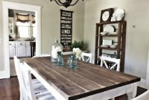 Home: Dining/kitchen / by Melissa Shrout