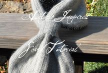 Do: SWEATER Projects / Ideas of what to do with an old sweater / by Songbird Blog