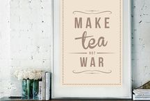 National Tea-ographic / Tea in Graphic Design / by ArtfulTea