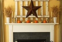 fireplace ideas / by Brandi Paier