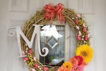 Diy wreaths / by Cathy Turner