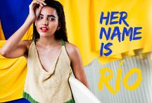 HER NAME IS RIO / Inspiration from Brazil and the World Cup for our newest collection, Her Name Is Rio. / by WE ARE KNITTERS