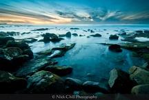I ♥ Sunset ~ By Me / Radiant sunset photography - NickChillPhotography.com / by Nick Chill Photography
