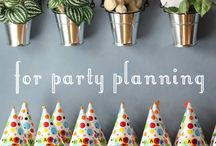 Parties / by Erin Schrader