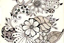 Doodles Etc / Free hand doodle ideas / by Linda Younkman