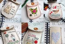 sew sewing  / sewing, embroidery, pin cushion , gifts, embellishments,  / by Doreen Tedeschi