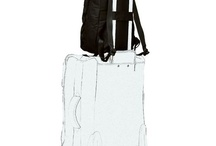 Laptop Backpacks with Pass Through Trolley Handles / by Velvet Washington