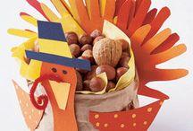 Thanksgiving crafts / by Sandi Hostetler Foust