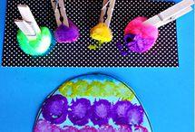Art activities - kids / by Stephanie Packer-Henderson