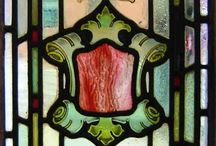 Stained glass  / Art Deco  / by Marisela Siordia