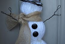 winter decorations / by Betsy Daspit