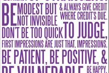 Quotes / by Carson Pemberton