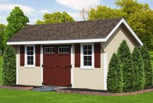 Sheds & Garages / When you are looking for a storage solution, we've got you covered! Whether it's big or small, wood or vinyl, pre-assembled or built on site, we do it all. We help you design a building that fits all of your needs and your budget. When it comes to storage sheds, garages and garden sheds, we build the best! / by Best in Backyards