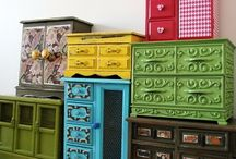 Fun with Paint / It's amazing what a difference a coat of paint can make!  / by Kandrac & Kole Interior Designs