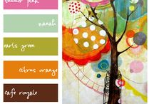 Color palette / by Harriet Swindell