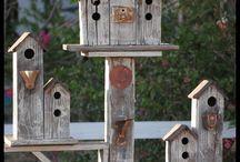Barn Wood Birdhouses / by Camille Mack