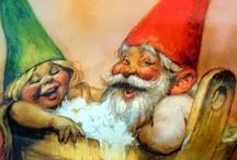 "Gnomes / Say ""hello"" to my little friend! / by Norse Mythology"