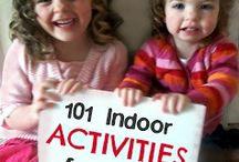 children indoor activities / by Vickie Westmoreland