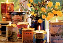 Candles - 101 / Scented or unscented, it's all good!  Learn how to make your own candles for practical purposes or for aromatherapy. / by Carolyn Evans-Dean