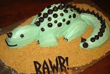 Rawr! / Dinosaur Birthday Party / by Sinful Nail Art
