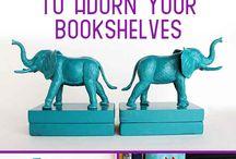 Bookshelves / by Jennifer Holmes